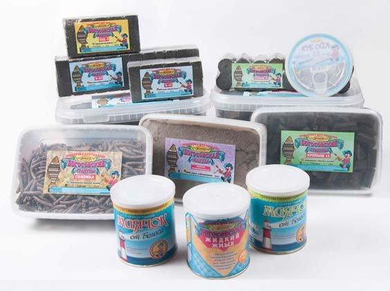 производство прикормки рыбы